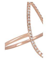 Diane Kordas - Pink Teardrop 18-Karat Rose Gold Diamond Ring - Lyst