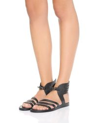 Ancient Greek Sandals | Black Ikaria Wing Jelly Sandals | Lyst