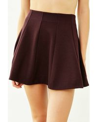 Kimchi Blue | Purple Flirt With Me Seamed Skirt | Lyst