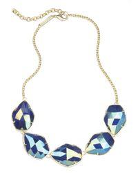 Kendra Scott | Blue Connely Necklace, Cobalt | Lyst