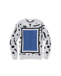 Soulland - Gray Patty Sweater for Men - Lyst
