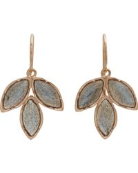 Irene Neuwirth - Metallic Gemstone Triple Marquise Earrings - Lyst