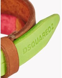 DSquared² | Green Saturated Color Armlet for Men | Lyst