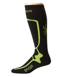 Spyder | Black Pro Liner Sock for Men | Lyst