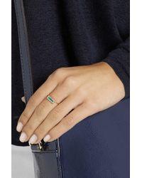 Jennifer Meyer - Blue 18-Karat Gold, Opal And Diamond Ring - Lyst