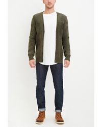 Forever 21 | Green Classic Wool-blend Cardigan for Men | Lyst