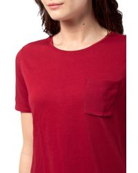 Tommy Hilfiger - Red Jummy Top - Lyst