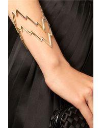 Venyx - Metallic Miss Zeus 18-Karat Gold Diamond Cuff - Lyst