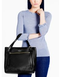 Kate Spade | Black Cobble Hill Peters | Lyst