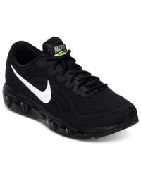 Nike | Black Men'S Air Max Tailwind 6 Running Sneakers From Finish Line for Men | Lyst