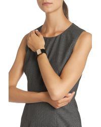 BOSS - Black Leather Bracelet: 'romi Bracelet' - Lyst