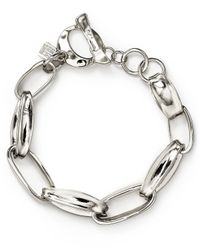 Robert Lee Morris | Metallic Metal Link Bracelet | Lyst