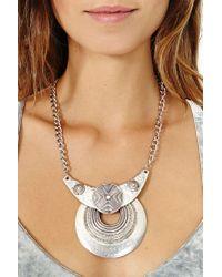 Nasty Gal - Metallic Kaya Necklace - Lyst