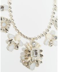Oasis | Metallic Statement Necklace | Lyst