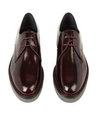 Tod's - Purple Gomma Derby Shoe for Men - Lyst