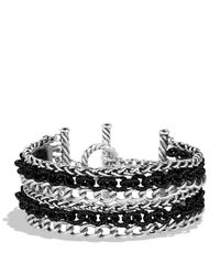 David Yurman | Metallic Six-row Chain Bracelet | Lyst
