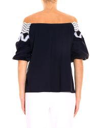 Peter Pilotto - Blue Pallas Blouse - Lyst