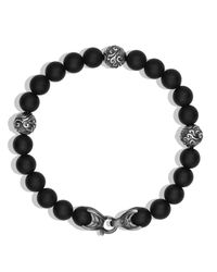 David Yurman - Spiritual Beads Bracelet With Black Onyx for Men - Lyst