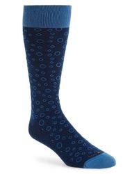 Hook + Albert - 'blue Crush' Socks for Men - Lyst