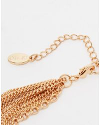 ALDO - Metallic Jamote Foot Chain - Lyst