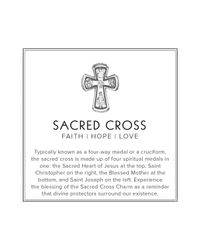 ALEX AND ANI - Metallic Sacred Cross Expandable Wire Bangle Precious Metal Collection - Lyst