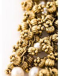 Rosantica | Metallic Cascading Bead Necklace | Lyst