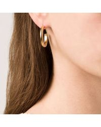 Kelly Wearstler | Metallic Anza Hoop Earring | Lyst
