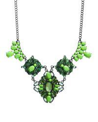 ASOS - Green Garden State Necklace - Lyst