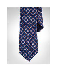 Polo Ralph Lauren - Blue Silk Foulard Narrow Tie for Men - Lyst