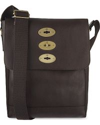 Mulberry | Brown Slim Brynmore Leather Messenger Bag, Chocolate for Men | Lyst