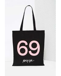 Nasty Gal | Black Not That Kind Of Girl Tote | Lyst