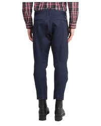 DSquared² | Blue Casual Pants for Men | Lyst