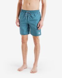 Ted Baker | Green Printed Swim Shorts for Men | Lyst