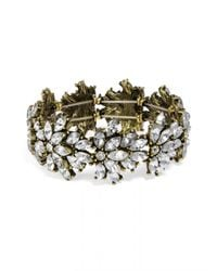 BaubleBar | Metallic Crystal Tiffany Stretch Bracelet | Lyst