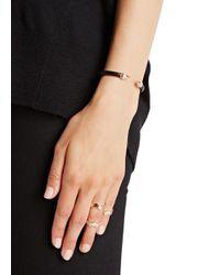 Vita Fede | Mini Titan Black Twin Spike Bracelet | Lyst