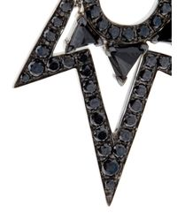 Stephen Webster - Black Diamond, Spinel & Gold Lady Stardust Earrings - Lyst