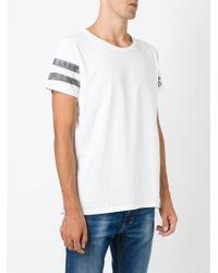 DIESEL - White 'trigob' T-shirt for Men - Lyst