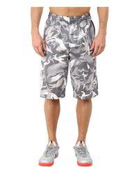 Nike | Gray Elite Stripe Camo Shorts for Men | Lyst