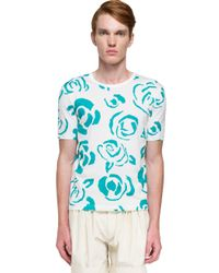 J.W.Anderson - Blue Print T-shirt for Men - Lyst
