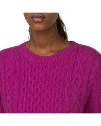 Tommy Hilfiger - Purple Farida Cashmere Sweater - Lyst