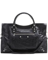 Balenciaga | Black Giant 12 City Leather Tote | Lyst