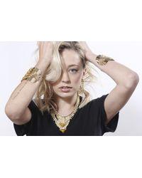 DANNIJO - Metallic Elsa Cuff - Lyst
