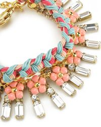 Juicy Couture | Metallic Multi Stone And Charm Bracelet | Lyst