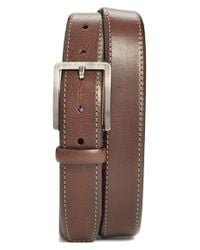 Trafalgar - Brown 'austin' Leather Belt for Men - Lyst