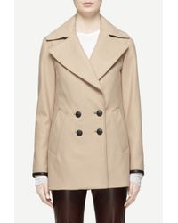 Rag & Bone - Brown Token Peacoat - Lyst