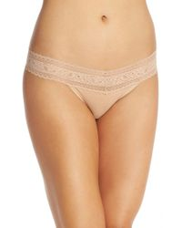 Calvin Klein | Natural Stretch Cotton Bikini | Lyst