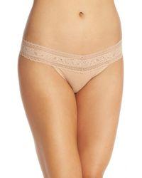 Calvin Klein - Natural Stretch Cotton Bikini - Lyst