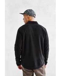 Obey - Black Lafayette Polar Fleece Shirt Jacket for Men - Lyst