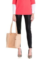 Ted Baker - Pink Metallic Panel Shopper - Lyst
