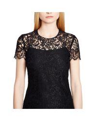 Ralph Lauren Black Label - Black Pacey Lace Dress - Lyst